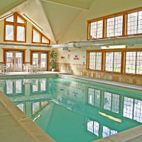 Amenities including indoor pool