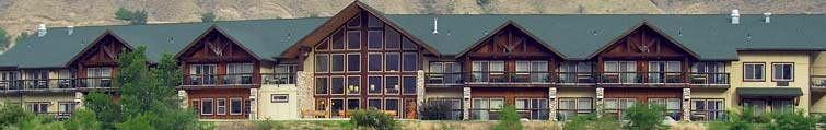 Exterior of Salmon Rapids Hotel in Riggins, Idaho